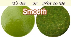 smoothie texture