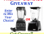 Blender Giveaway – Win a Blendtec or Vitamix