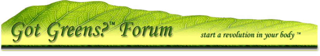 Got Greens Forum