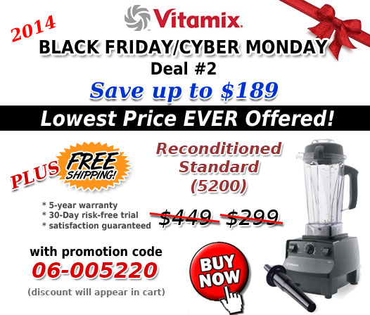 Vitamix Black Friday Deal