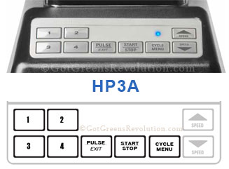 HP3A Blender Control Panel