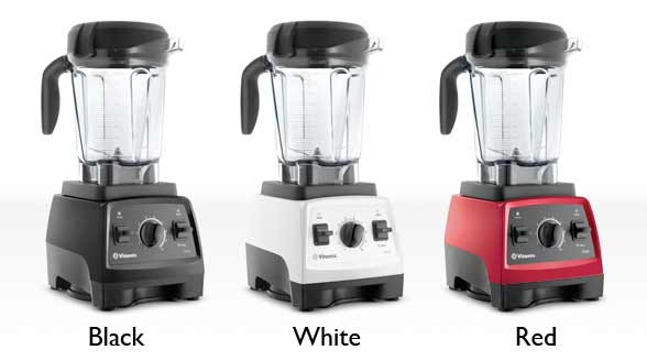 Vitamix 7500 Colors: Black, White, Red