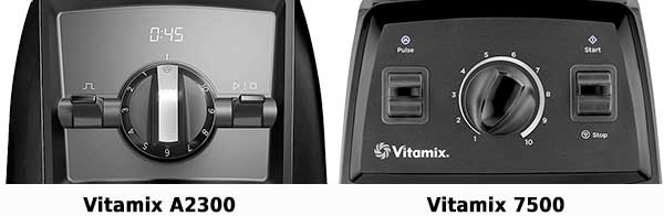 Vitamix Ascent A2300 vs 7500