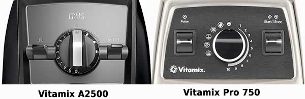 Vitamix Ascent A2500 vs 750