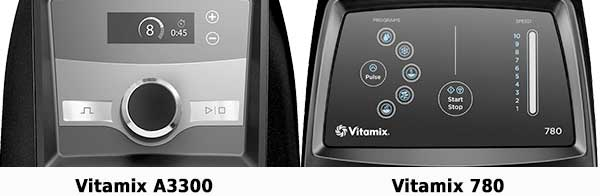 Vitamix Ascent A3300 vs 780