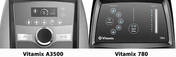Vitamix Ascent A3500 vs 780