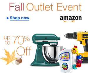 Fall Outlet Deals