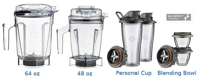 Vitamix Ascent Series Containers
