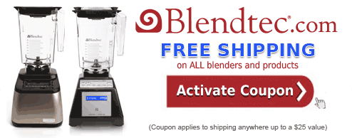 Blendtec Coupon Code - Free Shipping