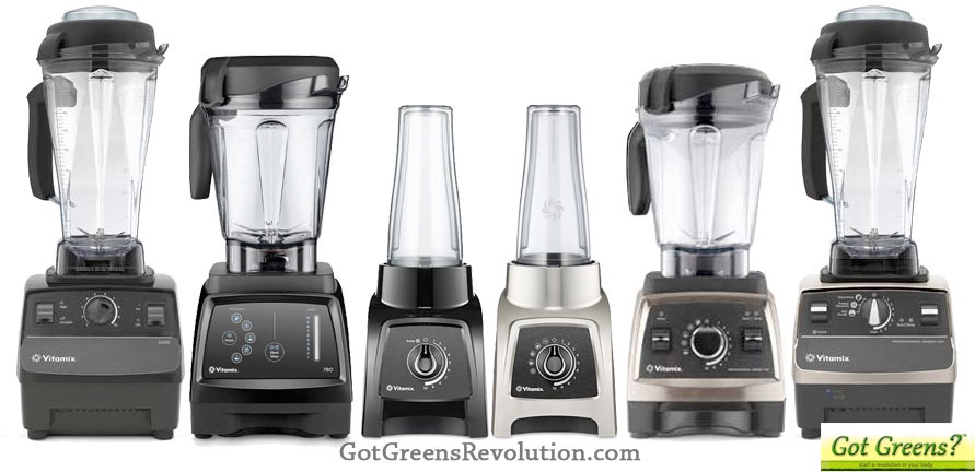 Vitamix Model Comparison