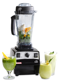 Vita-Mix green smoothie